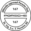 Officially approved Porsche Club 167
